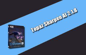 Topaz Sharpen AI 2.1.8