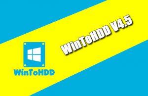 WinToHDD 4.5