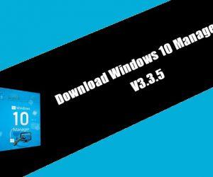 Yamicsoft Windows 10 Manager 3.3.5