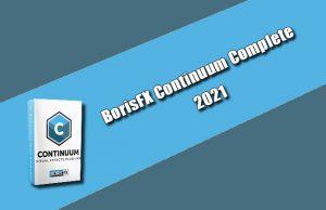 BorisFX Continuum Complete 2021 Torrent