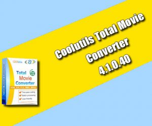 Coolutils Total Movie Converter 4.1.0.40