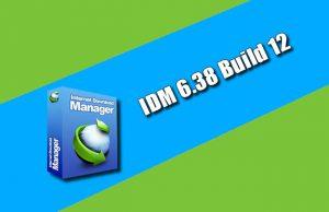 IDM 6.38 Build 12 Torrent