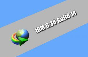 IDM 6.38 Build 14