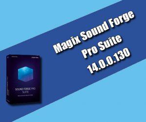 Magix Sound Forge Pro Suite 14.0.0.130