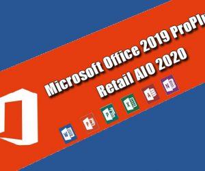 Microsoft Office 2019 ProPlus Retail AIO 2020