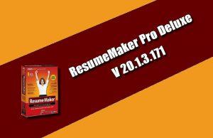 ResumeMaker Pro Deluxe 20.1.3.171 Torrent