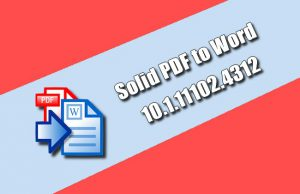 Solid PDF to Word Torrent