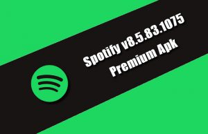 Spotify v8.5.83.1075 Premium Apk