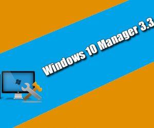 Windows 10 Manager 3.3.6 Torrent