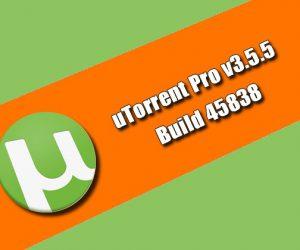 uTorrent Pro v3.5.5 Build 45838