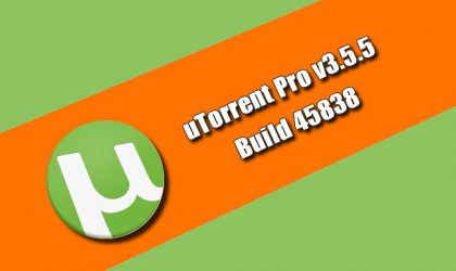 uTorrent Pro v3.5.5 Build 45838