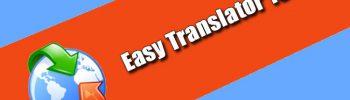 Easy Translator 16.0.3 Torrent