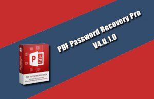 PDF Password Recovery Pro 4.0.1.0