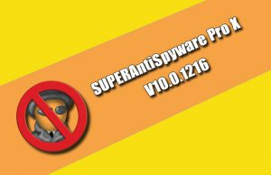 SUPERAntiSpyware Professional X 10.0.1216