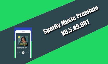 Spotify Music Premium 8.5.89.901