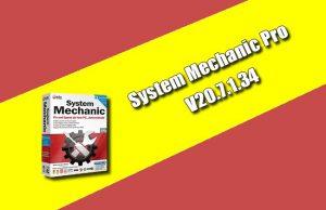 System Mechanic Pro 20.7.1.34
