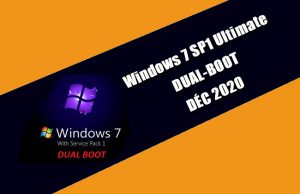 Windows 7 SP1 Ultimate DUAL-BOOT DÉC 2020