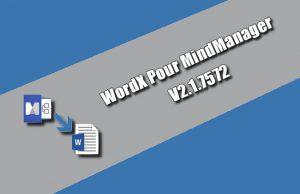 WordX pour MindManager 2.1.7572