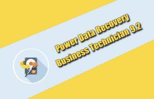 Power Data Recovery Business Technician 9.2