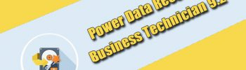 Power Data Recovery Business Technician 9.2
