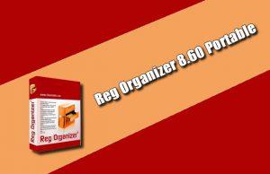 Reg Organizer 8.60 Portable