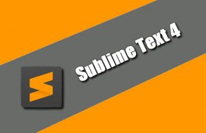 Sublime Text 4 Torrent