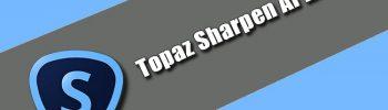 Topaz Sharpen AI 2.2.2