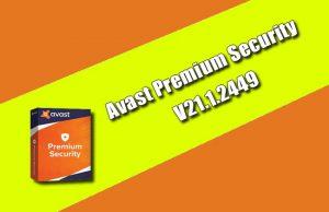 Avast Premium Security 21.1.2449 Torrent