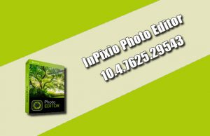 InPixio Photo Editor 10.4.7625.29543
