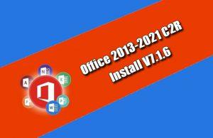 Office 2013-2021 C2R Install V7.1.6