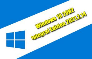Windows 10 20H2 Integral Edition 2021.2.14