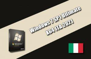 Windows 7 SP1 Ultimate X64 ITA Torrent