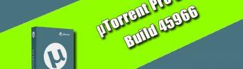 µTorrent Pro 3.5.5 Build 45966