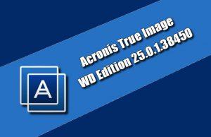 Acronis True Image WD Edition 25.0.1.38450