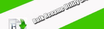 Bulk Rename Utility 3.4.3.0