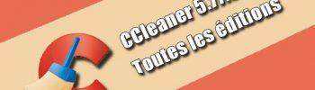 CCleaner 5.77.8521 Toutes les éditions