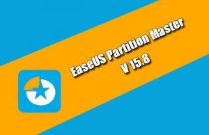 EaseUS Partition Master 15.8