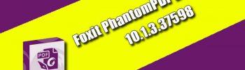 Foxit PhantomPDF Business 10.1.3.37598