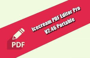 Icecream PDF Editor Pro 2.46 Portable