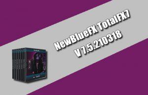 NewBlueFX TotalFX7 7.5.210318