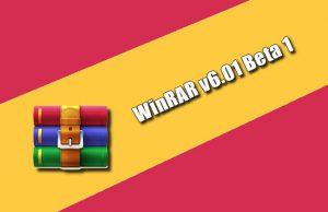WinRAR v6.01 Beta 1 2021