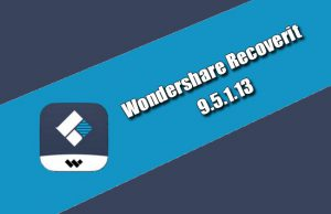 Wondershare Recoverit 9.5.1.13 Torrent