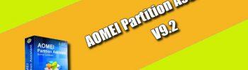 AOMEI Partition Assistant 9.2