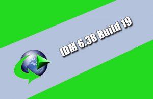 IDM 6.38 Build 19