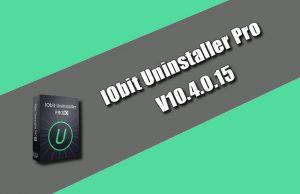 IObit Uninstaller Pro 10.4.0.15