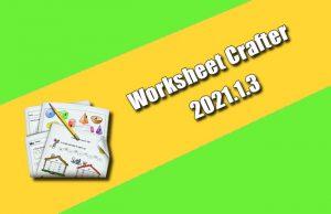 Worksheet Crafter 2021.1.3