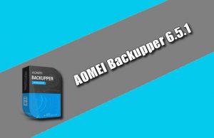 AOMEI Backupper 6.5.1