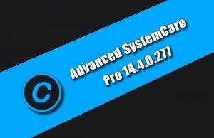 Advanced SystemCare Pro 14.4.0.277 fournit un utilitaire d'optimisation de PC tout-en-un toujours actif et automatisé, spécialisé dans