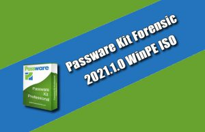 Passware Kit Forensic 2021.1.0 WinPE ISO