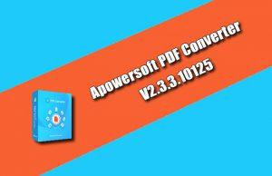 Apowersoft PDF Converter 2.3.3.10125